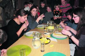 Four pancakes, first to finish wins: annual Sherston Pancake Eating competition returns