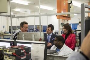 EU needed for businesses to thrive says CEO of Siemens UK during PM visit