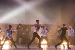 All boy dance crew make debut at Dauntsey's show
