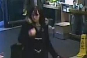 Do you recognise red bag shopper police want to speak to?